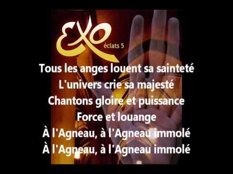 EXO ÉCLATS 5 - À l'Agneau (Avec Les Paroles)