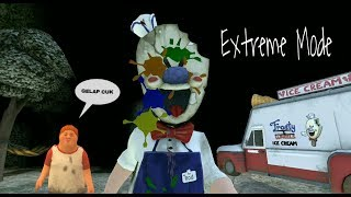 Nyobain Extreme Mode - ICE SCREAM Horror Neighborhood Versi 1.1