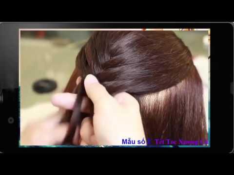 Những kiểu tết tóc đẹp dễ làm nhất   Mẫu 2 tóc xương cá