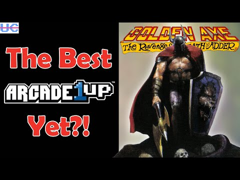 Arcade1up Golden Axe Revenge of Death Adder Full Review: Is This Sega Cabinet a Win? from Unqualified Critics