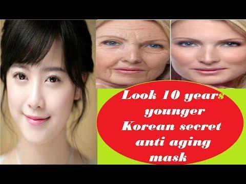 Get 10 years younger skin by anti aging mask- Korean secret anti aging mask
