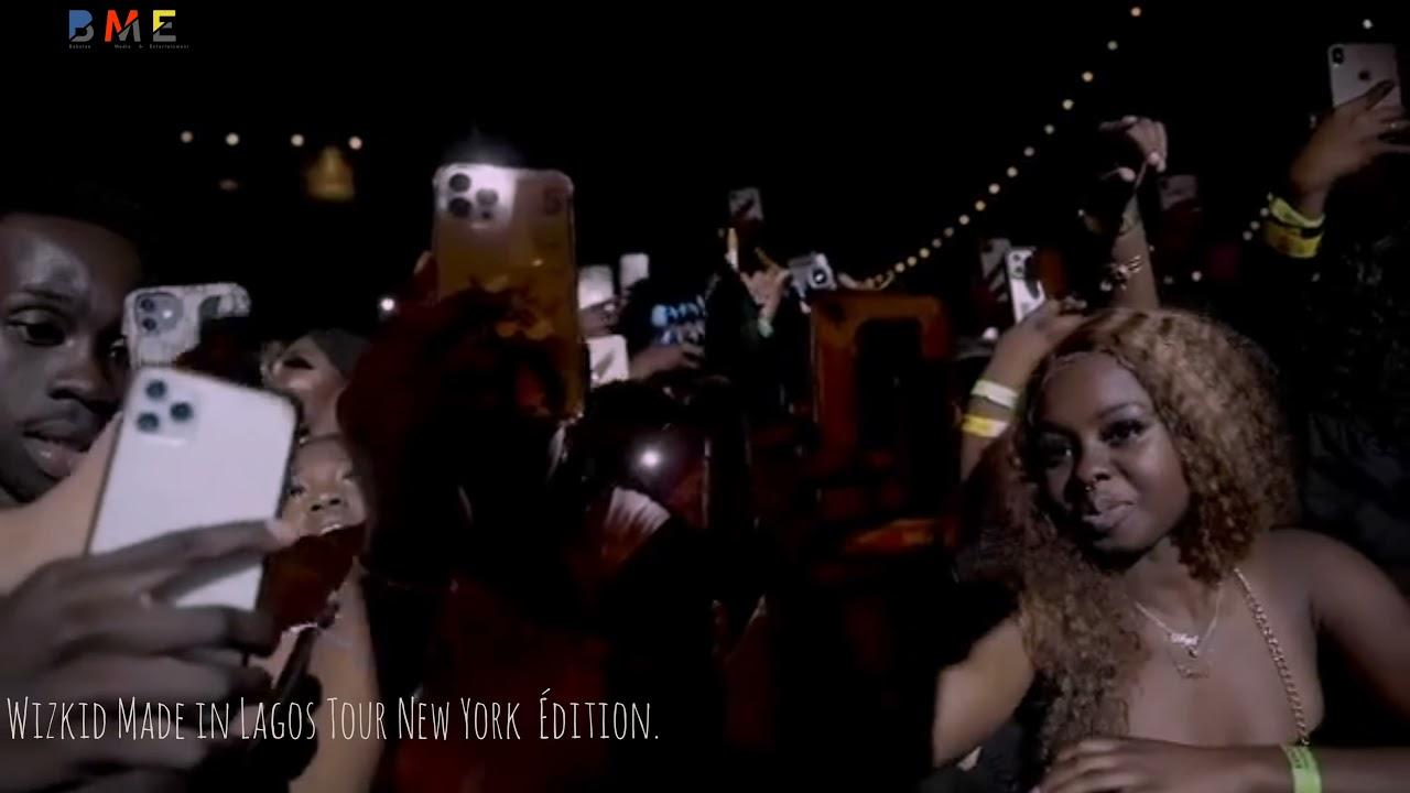 Wizkid New York Tour was a Movie.