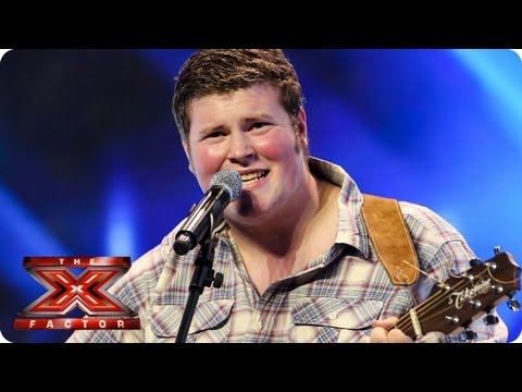 Ryan Mathie sings Get Lucky by Daft Punk -- Arena Auditions Week 4 -- The X Factor 2013