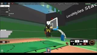 NBA Hoopz - Comment tirer ( Roblox )