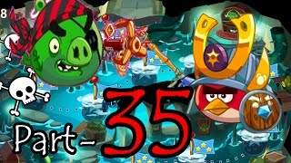 Angry Birds Epic: Part-35 Gameplay Chronicle Cave 8: Strange Site 1-4 (iOS, Android)