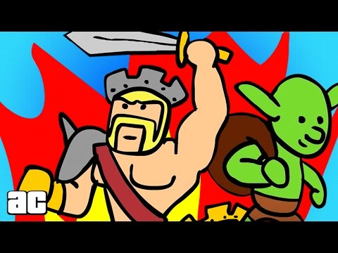 Clash of Clans FULL STORYLINE Explained in 3 Minutes! (Clash of Clans Animated)