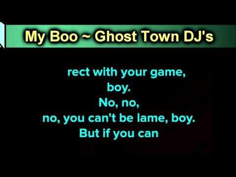 My Boo ~ Ghost Town DJ's ~ New Karaoke ~ Karaoke 808