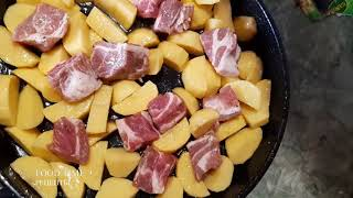 Картошка с Мясом в Духовке Картошка по Грузински Подробный рецепт Картошка с мясом и овощами