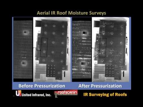 Infrared Thermal Imaging - Roof Scans