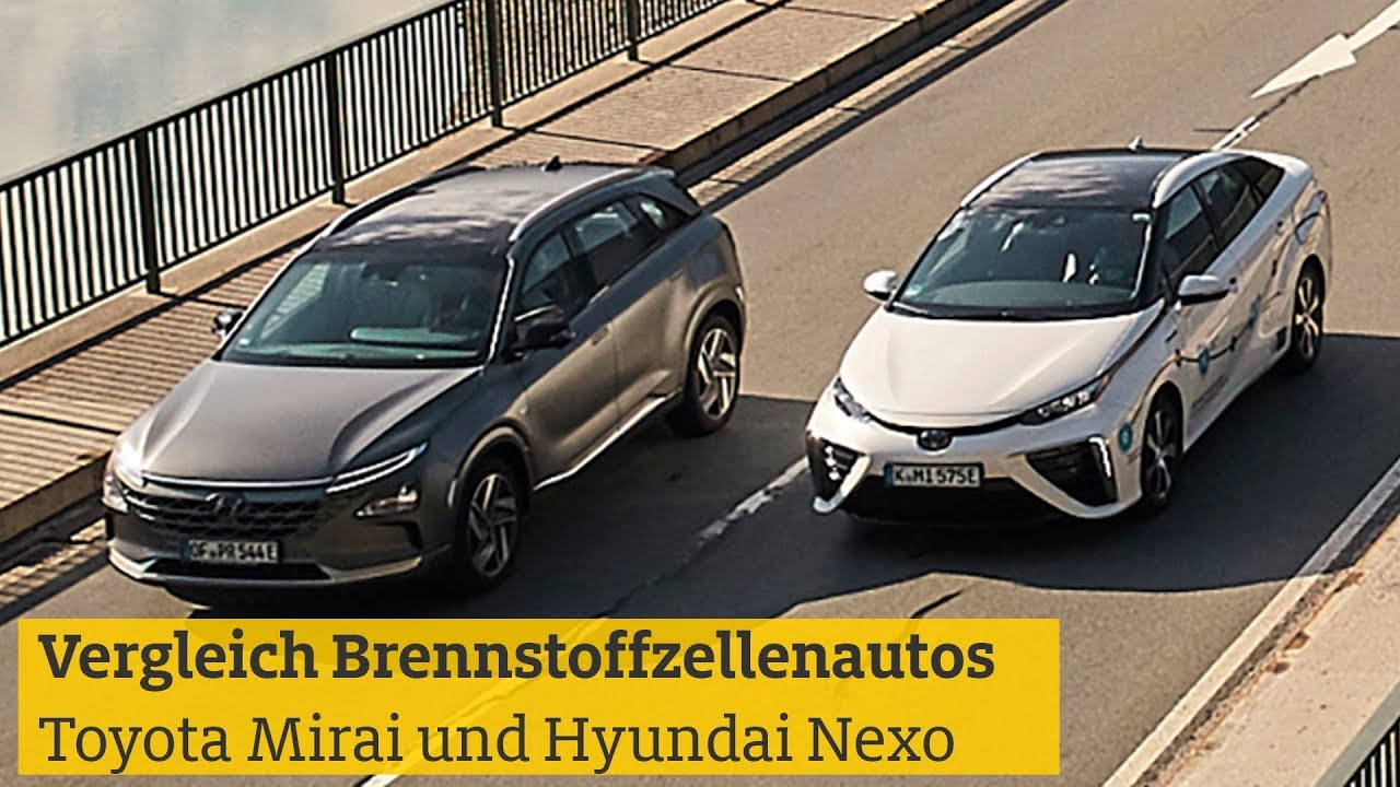 Toyota Mirai vs. Hyundai Nexo: Wasserstoff-Elektroautos im Test