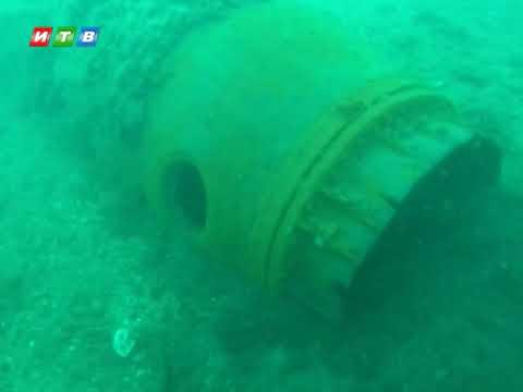ТРК ИТВ: Пиротехники МЧС разминировали 4 авиабомбы у берегов Орджоникидзе