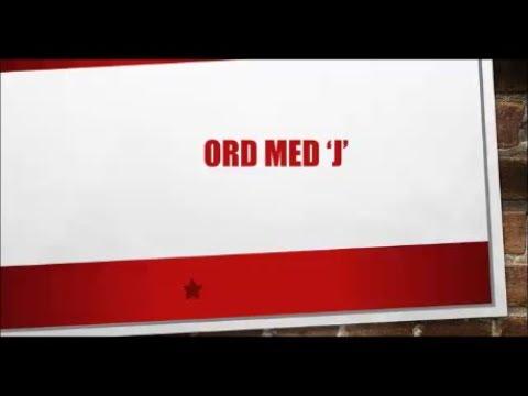 10 Ord Med J Danskarabisk Youtube
