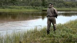 Рыбалка на кумжу на Кольском (река Типановка)