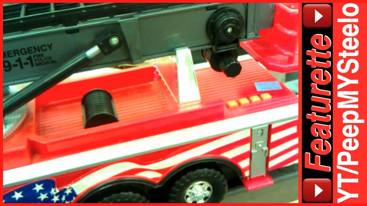 best toy fire trucks for kids with ladder of the many large metal red engine truck toys for sale. Black Bedroom Furniture Sets. Home Design Ideas
