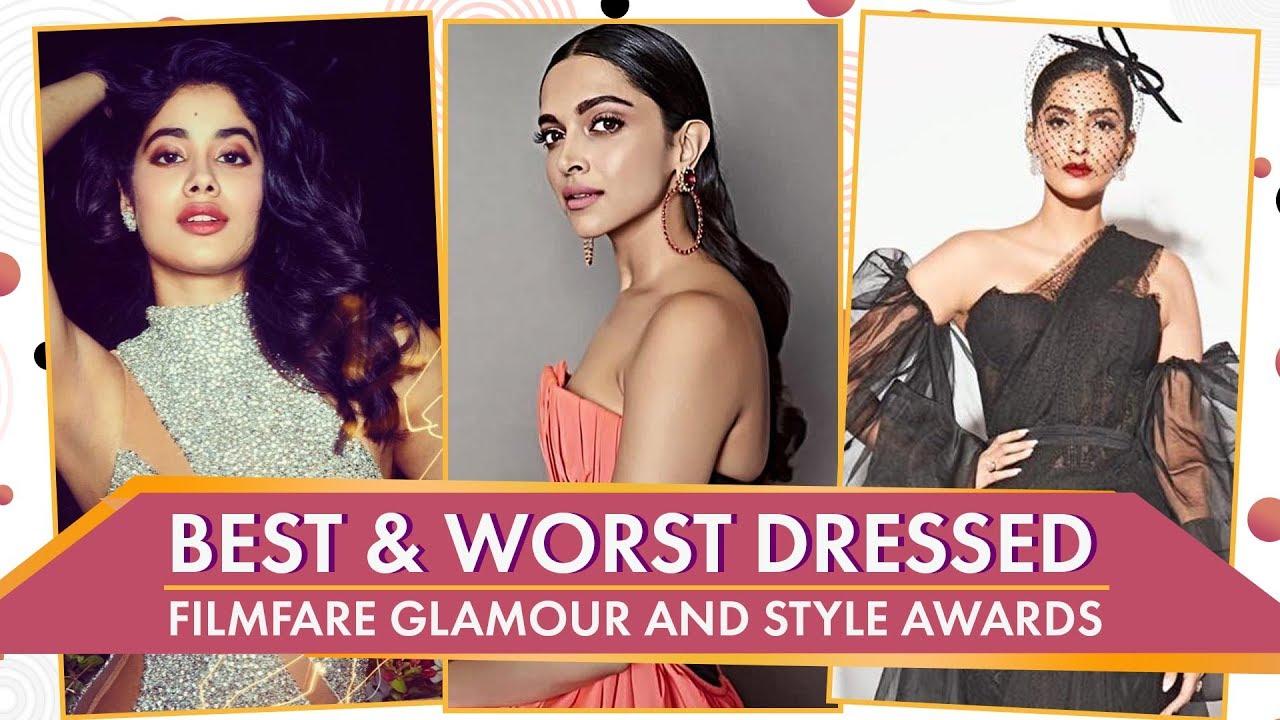 Deepika Padukone, Janhvi Kapoor, Shilpa Shetty: Best & Worst Dressed Filmfare Glamour & Styl