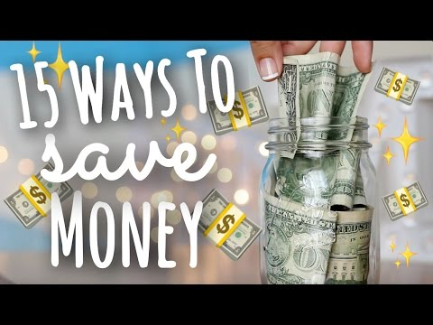 15 Easy Ways to Save Money as a Teen! | SimplyMaci