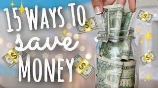 15 Easy Ways to Save Money as a Teen SimplyMaci