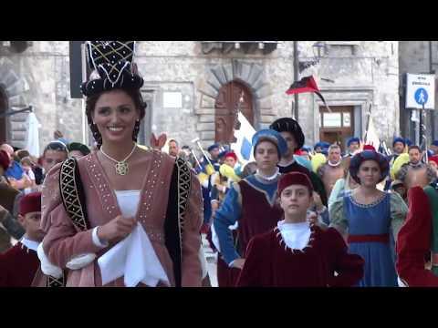 Tutti I Partecipanti Del Corteo Storico Della Quintana Di Ascoli Piceno Ed. Luglio 2019