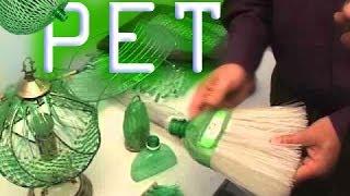 Artesanato de Garrafa PET