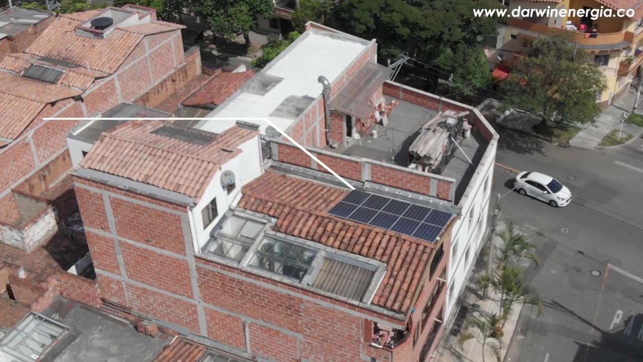 Proyecto Energía Solar Residencial Medellín