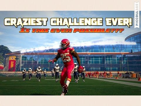Can I Get A 200 YARD RUSHING TOUCHDOWN WITH JAMAAL CHARLES?? EXTREME Madden Challenge!!