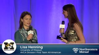 Lisa Henning - 2013 AVCA First-Team All-American