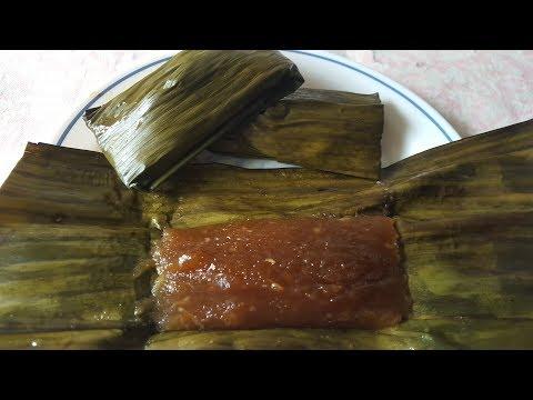 Lepat Ubi Gula Apong Malaysian Dessert Cooking Recipes Cooking