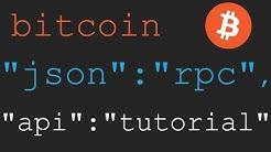 Bitcoin JSON-RPC Tutorial 7 - Wallet Notify