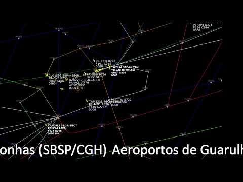 Radar e Escuta Aérea ao vivo com o tráfego aéreo em São Paulo from YouTube · Duration:  1 hour 2 minutes
