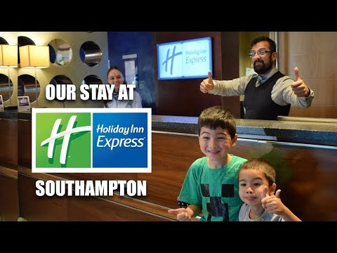 Our stay at The Holiday Inn Express, Southampton M27 Junction 7