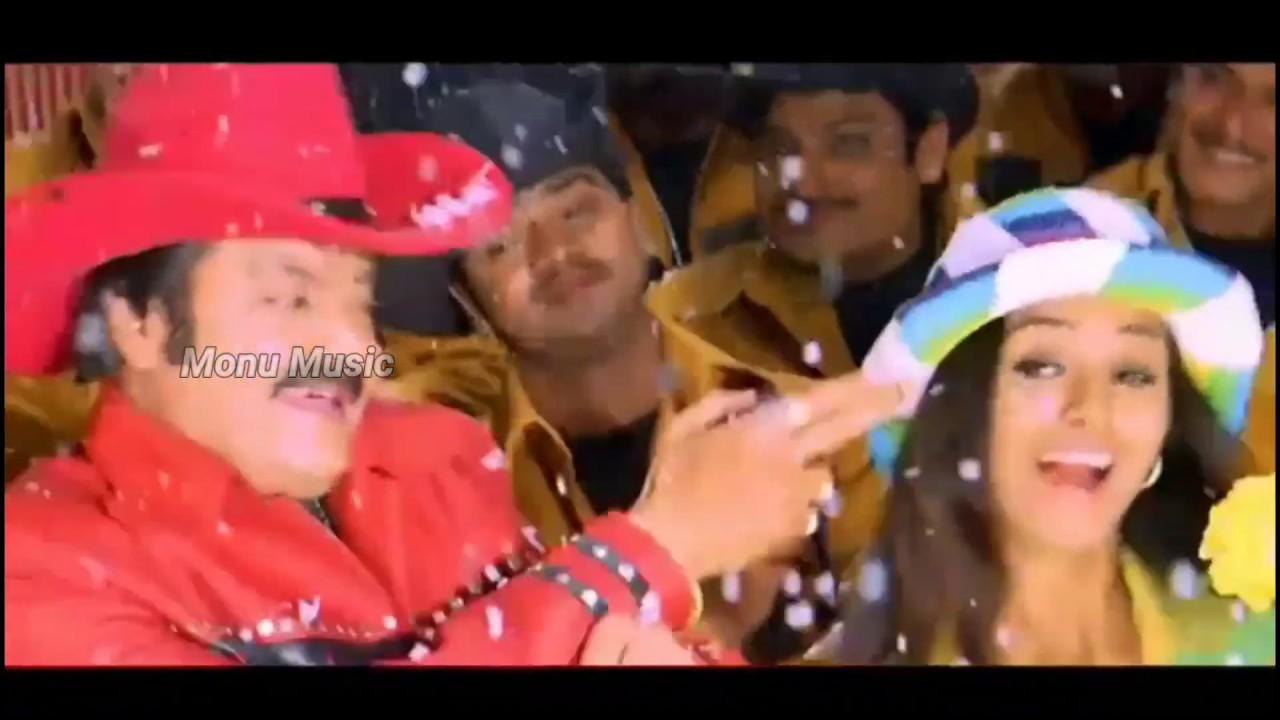Download Ammathodu Full Video Song HD   Seethaiah Telugu Movie   Hari Krishna, Simran