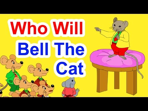 Who Will Bell The Cat - Story In English | English Stories