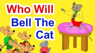 Who Will Bell The Cat - Story In English | English Stories | Moral Bedtime Stories For Kids
