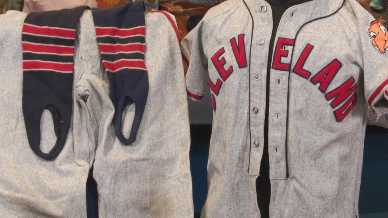 1948 Cleveland Indians Bat Boy Worn Uniform Web