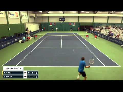 Drummondville Challenger: 87 shots rally between Kevin King and John-Patrick Smith