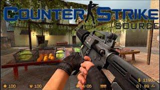 Counter Strike Source - 2020 Gameplay - cs_italy (15-3)
