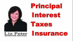 PITI - Principal Interest Taxes Insurance (Mortgage Real Estate)