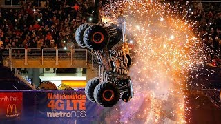 Monster Jam Top 5 Double Backflip Attempts