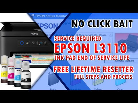epson-l3110-ink-pad-is-at-the-end-of-its-service-life-||-how-to-reset-epson-l3110-||-no-click-bait