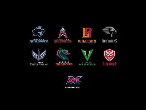 In The Zone - Tampa Bay Vipers: The XFL Releases Their Eight Team Names and Logos