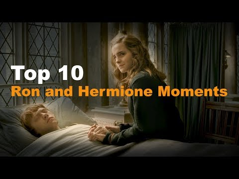 Top 10 - Ron And Hermione Moments