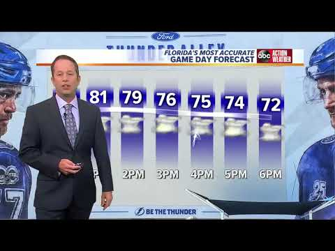 Florida's Most Accurate Forecast with Jason on Saturday, May 19, 2018