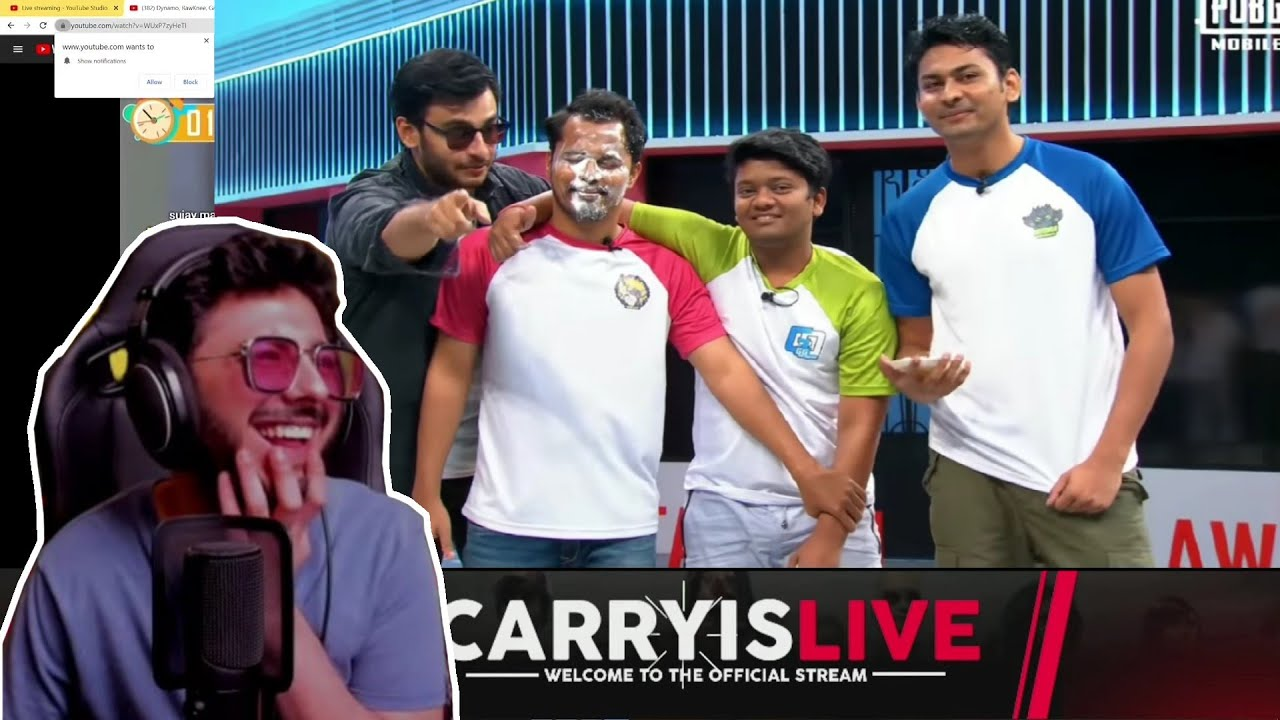 Carry Reaction - Dynamo, Rawknee, Gareeboo And Krontan - PMSC Stardom 2019 | CarryIslive Highlights