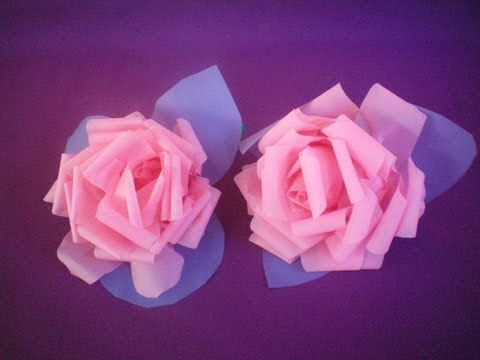 Flor de pl stico mais f cil de fazer que tomar doce de - Flores de plastico ...