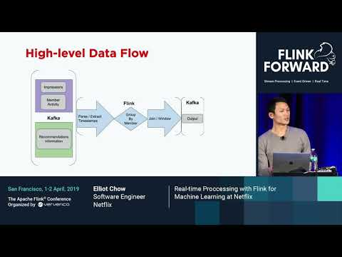 Real-time Processing With Flink For Machine Learning At Netflix - Elliot Chow