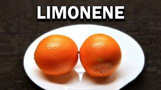 How to extract Lim๐nene from Orange Peels