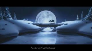 """""""Somewhere only we know"""" recorded with Virtual Choir Recorder."""