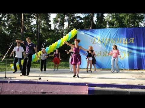Мастер-класс буги-вуги на День молодёжи 2012.