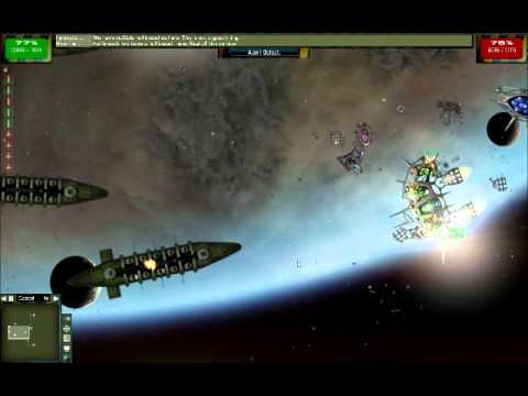 Gratuitous Space Battles, Last Exile Mod, Anatoray Fleet Preview