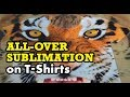 All Over Sublimation Printing on T-Shirts - Part 1 (The Printing Process)